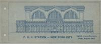 Pennsylvania Station--8th Avenue elevation