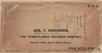 Jos. T. Richards envelope