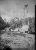 Drilling rig on Guest River, Virginia