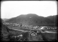 Housing for railroad workers in Andover, Virginia