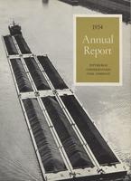 Annual Report of Pittsburgh Consolidation Coal Company, 1954