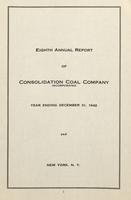 Annual Report of Consolidation Coal Company, 1942
