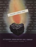 Annual Report of Pittsburgh Consolidation Coal Company, 1947