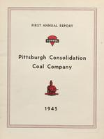 Annual Report of Pittsburgh Consolidation Coal Company, 1945