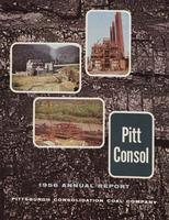Annual Report of Pittsburgh Consolidation Coal Company, 1956