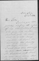 William du Pont to Henry du Pont, 1873-02-06