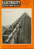 Electricity on the Farm Magazine, June-July 1953