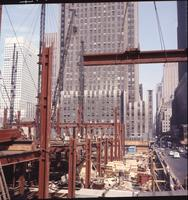 Time-Life Building under construction