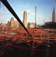 Madison Square Garden under construction