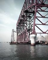 William Preston Lane, Jr. Memorial Bridge (Chesapeake Bay Bridge) under construction