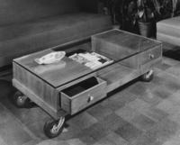 Momentum rolling coffee table, 1949