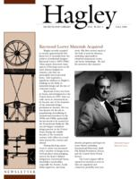 Hagley Newsletter [Fall 2001]