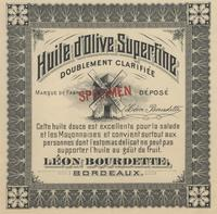Huile d'Olive Superfine (Superfine Olive Oil)