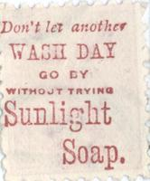Don't let another wash day go by without trying Sunlight Soap