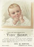 I have just been washed with Tidy Soap