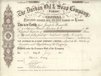 Durban Oil & Soap Company, Ltd.