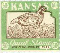 Kansas quail tax stamp