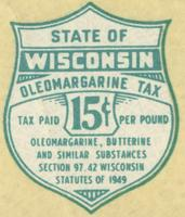 State of Wisconsin oleomargarine tax
