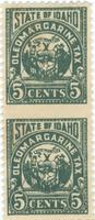 State of Idaho oleomargarine tax stamp