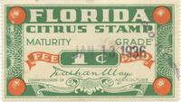 Florida Citrus Stamp
