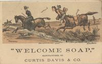 Welcome Soap Manufactured by Curtis Davis & Co.