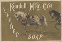 Kendall Mfg. Co's. Leader Soap
