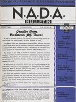 NADA Bulletin, Vol. 12, No. 10