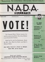 NADA Bulletin, Vol. 12, No. 05