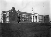 Front exterior view of William Penn White School