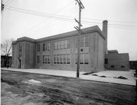Side exterior view of John Palmer Jr. School