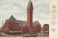 Dearborn Station in Chicago, Ill.