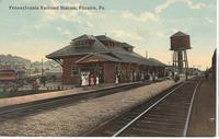 Pennsylvania Railroad Station in Pitcairn, Pa.