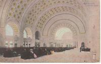 Union Station, Waiting Room, Washington, D. C.