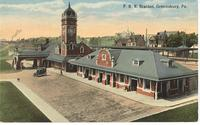 P.R.R. Station in Greensburg, Pa.