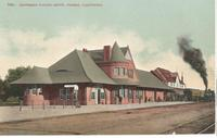 Southern Pacific Depot in Fresno, Calif.