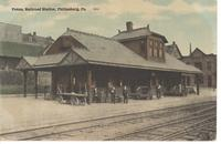 Pennsylvania Railroad Station in Philipsburg, Pa.