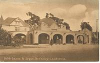 Santa Fe Depot in Berkeley, Calif.