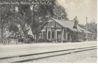 Southern Pacific Station in Menlo Park, Calif.