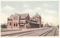 Santa Fe Station in Hutchinson, Kan.