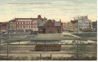 Pennsylvania Railroad Depot in Youngstown, Ohio