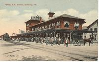 Pennsylvania R.R. Station in Sunbury, Pa.