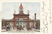 Union Depot & Welcome Arch in Denver, Colo.