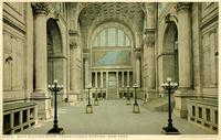 Pennsylvania Station - Main Waiting Room in New York, N.Y.