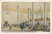 Union Station - Fred Harvey Lunch Room in Chicago, Ill.