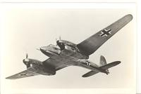 Focke-Wulf Fw 187 Zerstorer (Destroyer) fighter aircraft