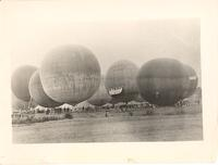 Start of the International Gordon-Bennett Balloon Race at Detroit, Mich.