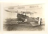 Royal Aircraft Factory S.E.5 biplane fighter aircraft