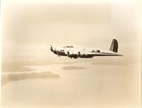 Boeing 299T Flying Fortress Mk 1 in flight