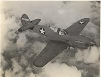 Curtiss P-40 Warhawk fighter plane