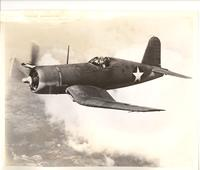 Chance Vought F4U Corsair fighter aircraft